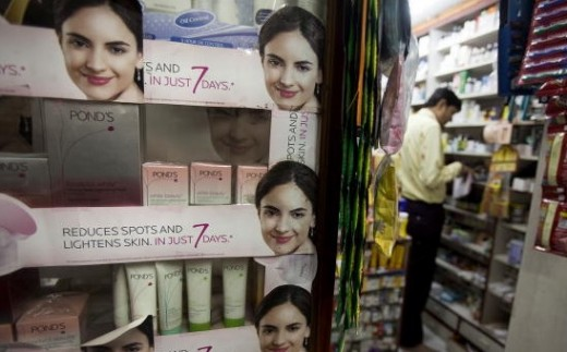 products in skin lightening creams may cause acne flare-ups.