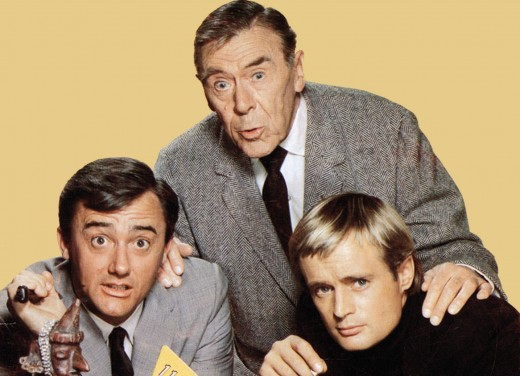 The original cast of The Man from U.N.C.L.E.
