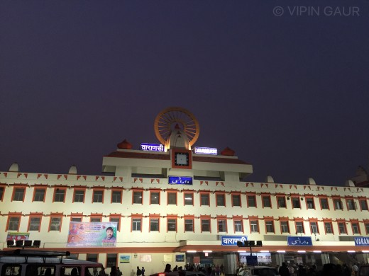 Varanasi Railway Station, India