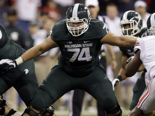 Jack Conklin, OT, Michigan State