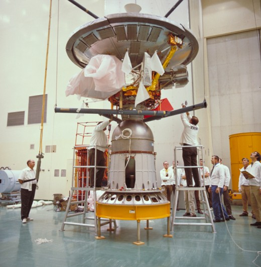 The Pioneer 10 delivered to NASA.  The Pioneer 10 crossed the Asteroid Belt in February 1973.  It did a flyby of Jupiter and then flew into interstellar space.
