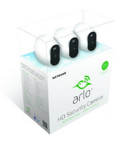 The Arlo Security Cameras