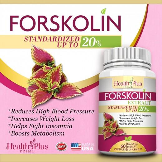Forskolin Product Packaged