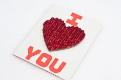 How To Make A Valentine's Card I Love You Card
