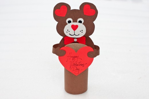 Your Valentine's Day Teddy Bear is completed