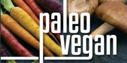 Logo for paleo and vegan diet.