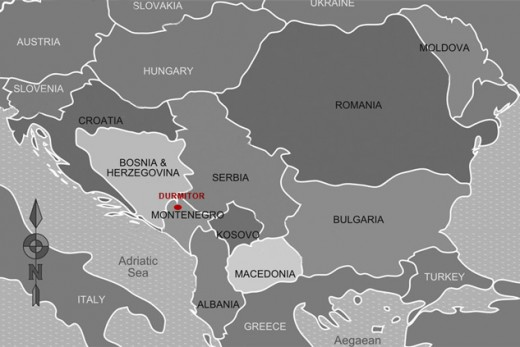 The Balkans:  Where According To Europol Islamic State Are Training.