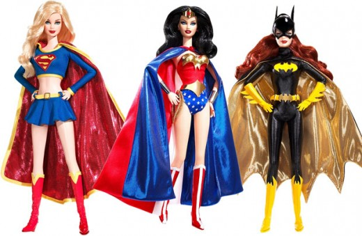 "Barbie's version of DC's ""Trinity""."