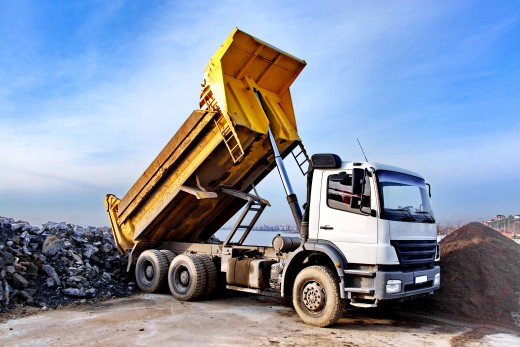 Tipper trucks are used for transporting heavy loads and moving bulky items