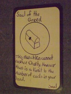 Custom Card Ideas: Soul of the Greed