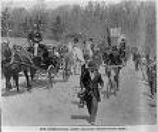 6000 Unemployed Men Converged On Washington In 1894