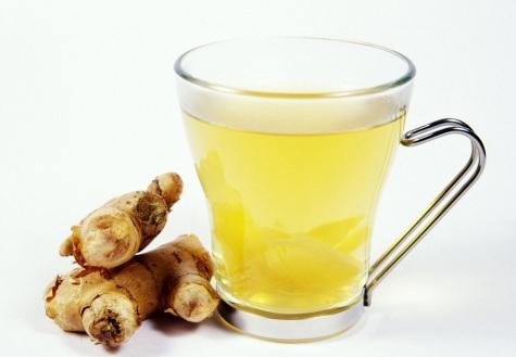 ginger tea relives menstrual cramps.