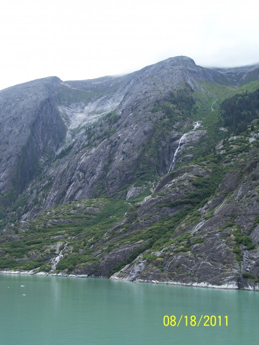 INSIDE TRACY ARM FJORD