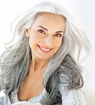 Mature Woman, Aging Gracefully
