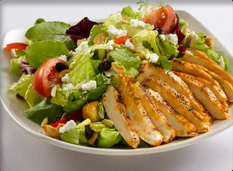 Yum! Chicken and Lettuce Salad