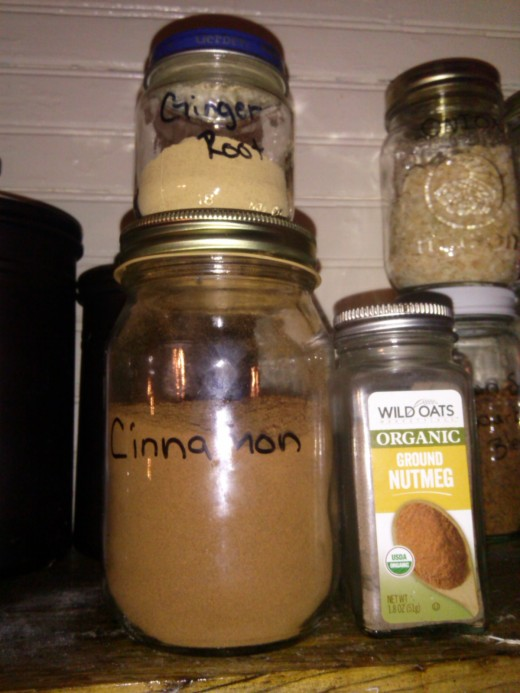 You can add any spices you like. I alter the recipe and add ginger or nutmeg from time to time. Yes, I do love my fancy spice containers!