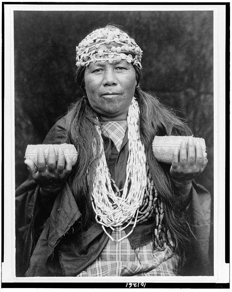 Hupa Female Shaman, c. 1923