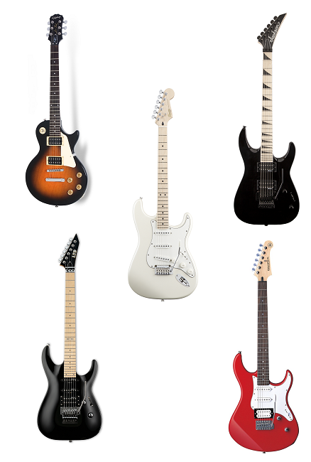 top 5 best electric guitars for beginners 2017 spinditty. Black Bedroom Furniture Sets. Home Design Ideas
