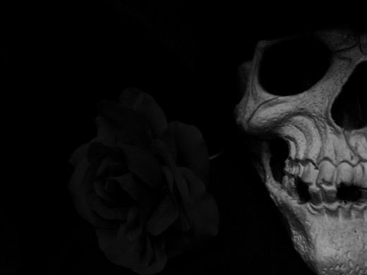 Baron can appear many ways. As a handsome man, a man in skull paint, with a skull for a head, or as he prefers with me, as a skeleton.