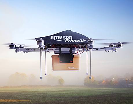 Will delivery of online shopping go high-tech?
