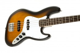 Squier Affinity Jazz Bass: Part of the Squier starter bass pack.