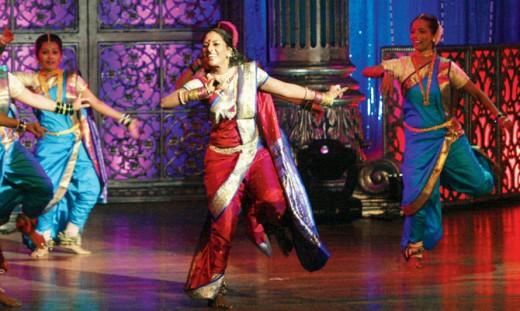 A scintillating lavani performance