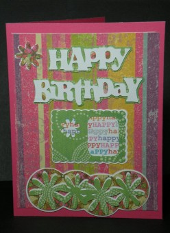How to Make a Homemade Birthday Card using a Cricut Machine