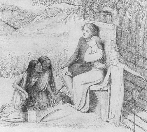 Lovers Listening to Music, 1854