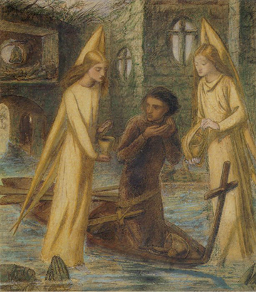 The Quest of the Holy Grail, 1851