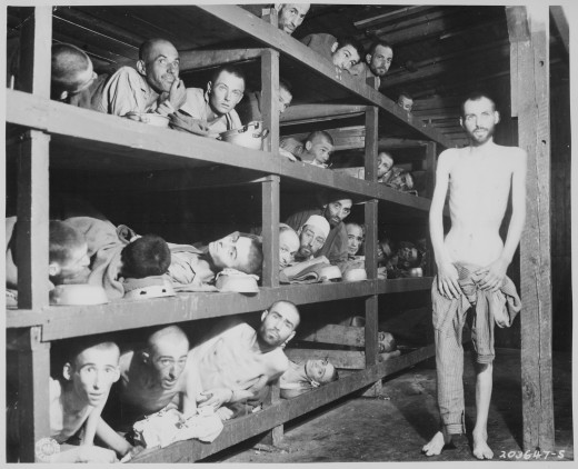 The horror of the Holocaust camps.