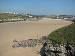The tide, ebbing.....