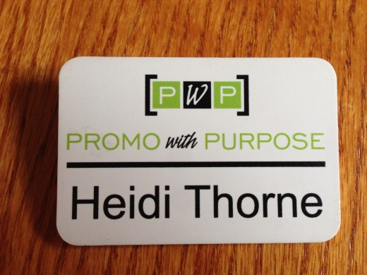 The other part of your networking tool kit: Your professional name badge.