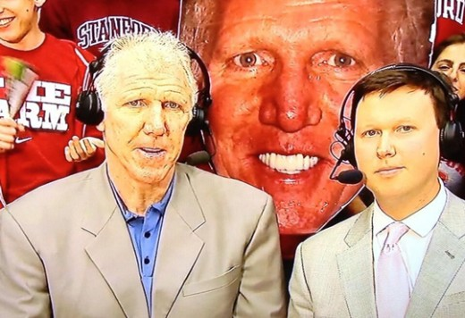 The face Bill Walton makes when he can no longer taste colors and feel sounds