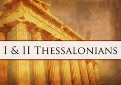 In Thessalonians, He's the Coming King