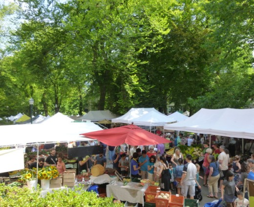 Portland's Local Farmers Market