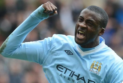 Team: Manchester City FC; Nationality: Ivory Coast; Salary: £10 million per year