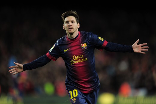 Team: Barcelona FC; Nationality: Argentina;  Salary: £256,000 per week (after tax deductions)