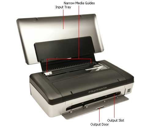 Best Buy HP Portable Printer Officejet 100 Mobile