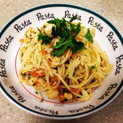 Easy Lobster Linguine