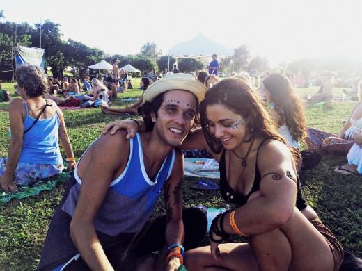 Jon and I at the Kohala Aina festival!