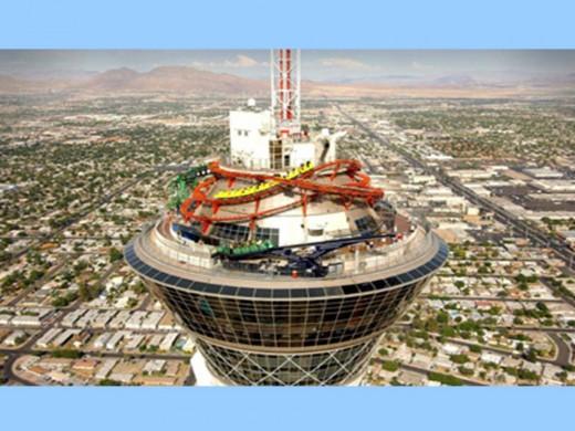 You prefer a theme park? Only in Las Vegas...