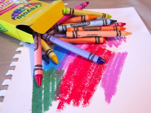 When is the last time you used crayons?