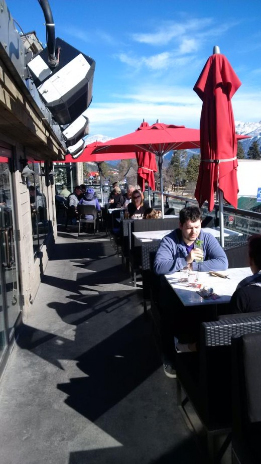 See what we mean about the rooftop patio?