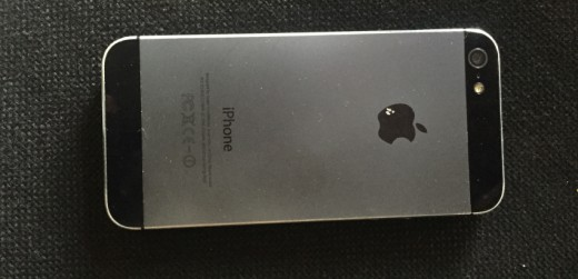 A used iPhone 5