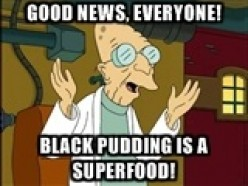 Black Pudding: Superfood!  Sort of.  (With recipes and videos on frying!)
