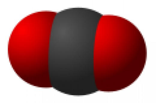 The deceptively simple carbon molecule: a central carbon molecule bonded to two oxygen molecules. While essential for life, this common compound could be killing us.