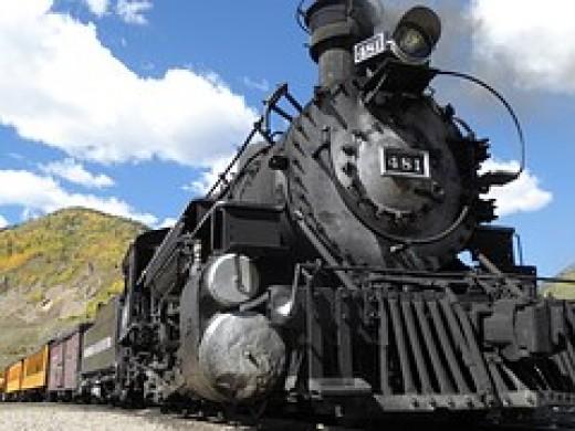 Pacific Union Railways built using eminent domain.