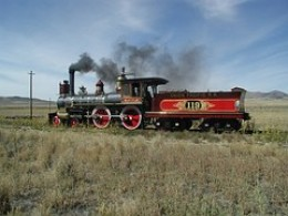 Union Pacific Steam Locomotive