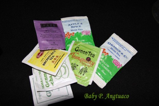 the many flavors of tea