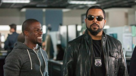 "It seems like only yesterday that Ice Cube was singing, ""F**k the police"", and now he's playing a cop on the big screen.  I weep at the irony of the situation."